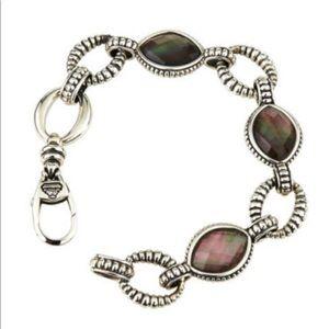 Lagos Venus Black Mother of Pearl bracelet